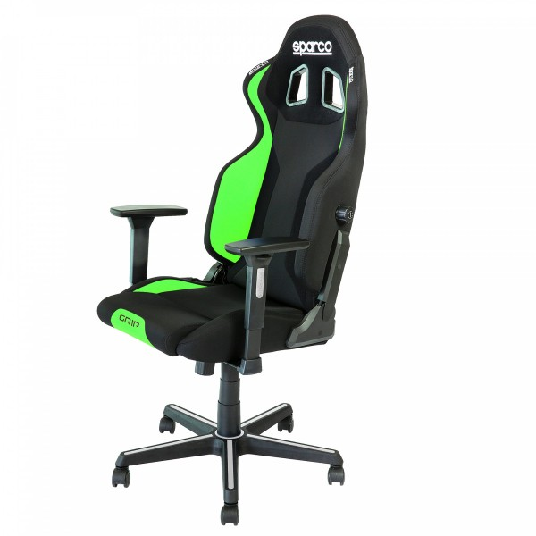 GRIP Gaming/office chair Black/Fluo Green ( 00989NRVF )