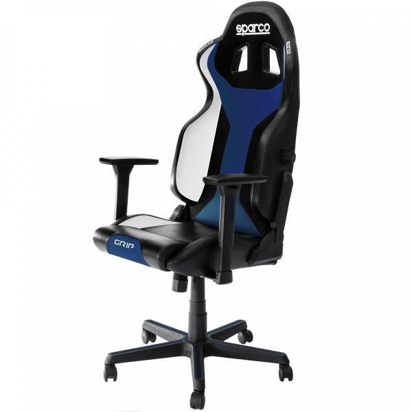 GRIP Gaming/office chair Black/Blue Sky ( 00989NRAZSKY )