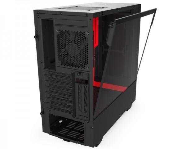 NZXT H510i kućište crno-crveno (CA-H510I-BR)