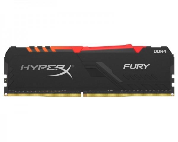KINGSTON DIMM DDR4 8GB 3600MHz HX436C17FB3A8 HyperX Fury RGB