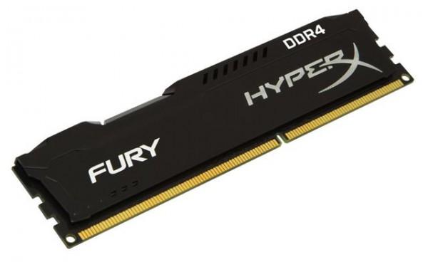 Memorija Kingston DDR4 4GB 2666MHz HyperX Fury Black