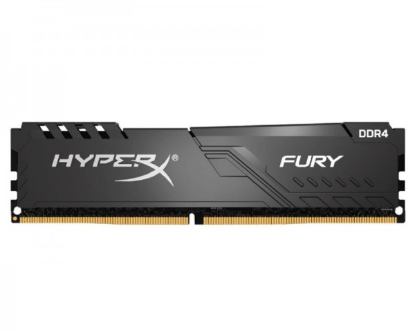KINGSTON DIMM DDR4 8GB 2666MHz HX426C16FB38 HyperX Fury Black