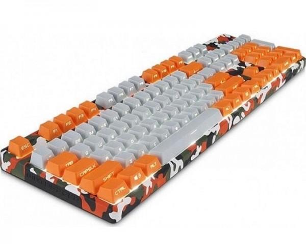 MOTOSPEED K96 narandžasta mehanička tastatura braon prekidač