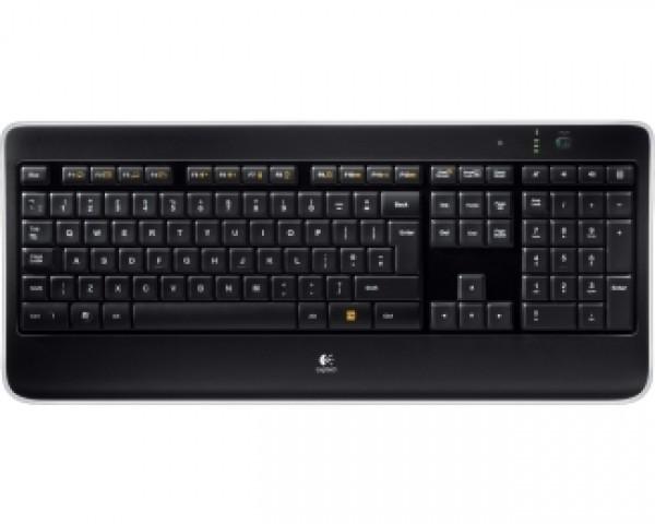 LOGITECH K800 Wireless Illuminated US tastatura