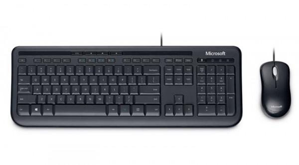 Microsoft mis+tastatura Wired Desktop Set 600, bezicna, crna' ( '3J2-00003' )