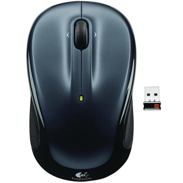 LOGITECH Wireless Mouse M325 - EMEA - DARK SILVER ( 910-002142 )