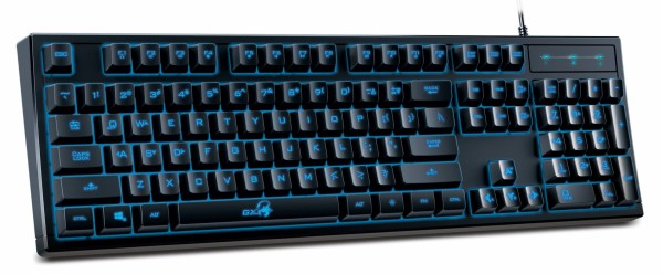 GENIUS K6 Scorpion Gaming USB US crna tastatura