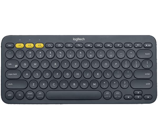 LOGITECH Bluetooth Keyboard K380 Multi-Device - INTNL - US International Layout - DARK GREY ( 920-007582 )