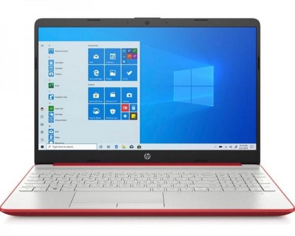 HP 15-DW1083 15.6'' Pentium G6405U 4GB 128GB SSD Win10Home crveni