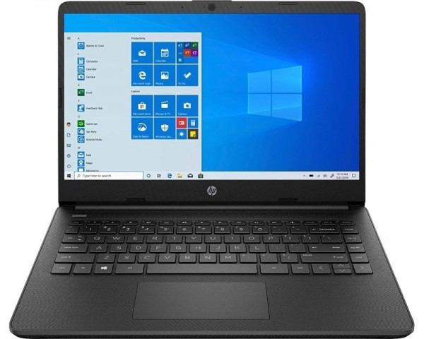 HP 14S-FQ0013DX 14'' AMD Athlon 3050U 4GB 128GB SSD Win10Home crni