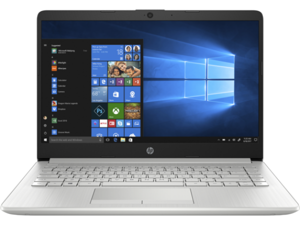 HP 14-DK1025WM 14'' AMD Ryzen 3 3250U 4GB 1TB Win10Home srebrni