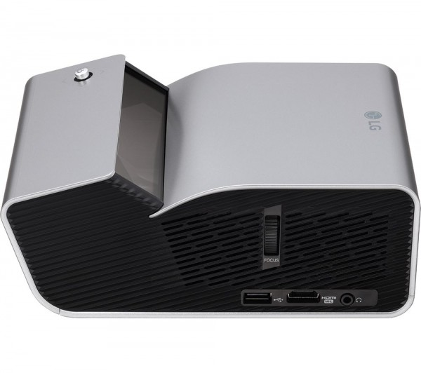 Projector Ultra Short Throw LED, DLP, HD (1280x720), 450 ANSI, 100000: 1, RGB LED, Bluetooth, Speakers 2x1W, HDMI, USB, Silver ( PH450UG )