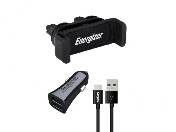 Energizer Max Universal Car Kit USB-C Cable Black 3,4A' ( 'CKITB2CC23' )