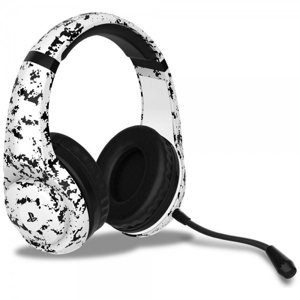 PS4 Camo Edition Stereo Gaming Headset - Arctic (  )