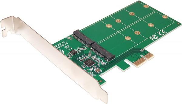 Kontroler E-Green PCIe card to M.2 (SSD)