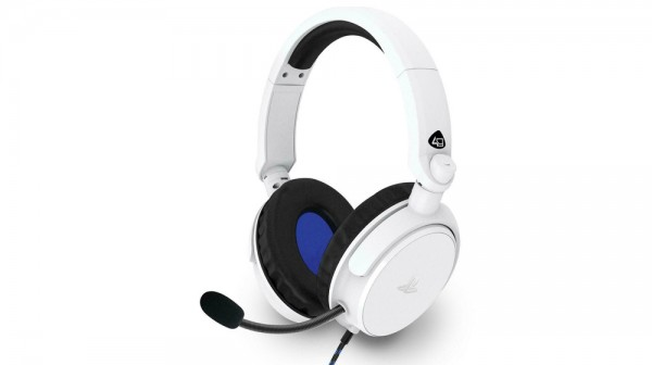PS4 Stereo Gaming Headset Pro4-50S White (  )