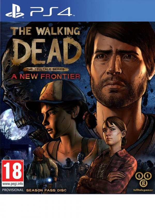 PS4 The Walking Dead - A New Frontier (  )