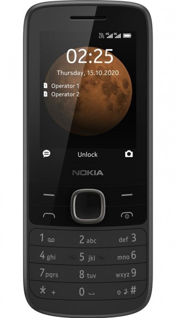 Nokia 225 4G DS Black Dual Sim' ( '16QENB01A07' )