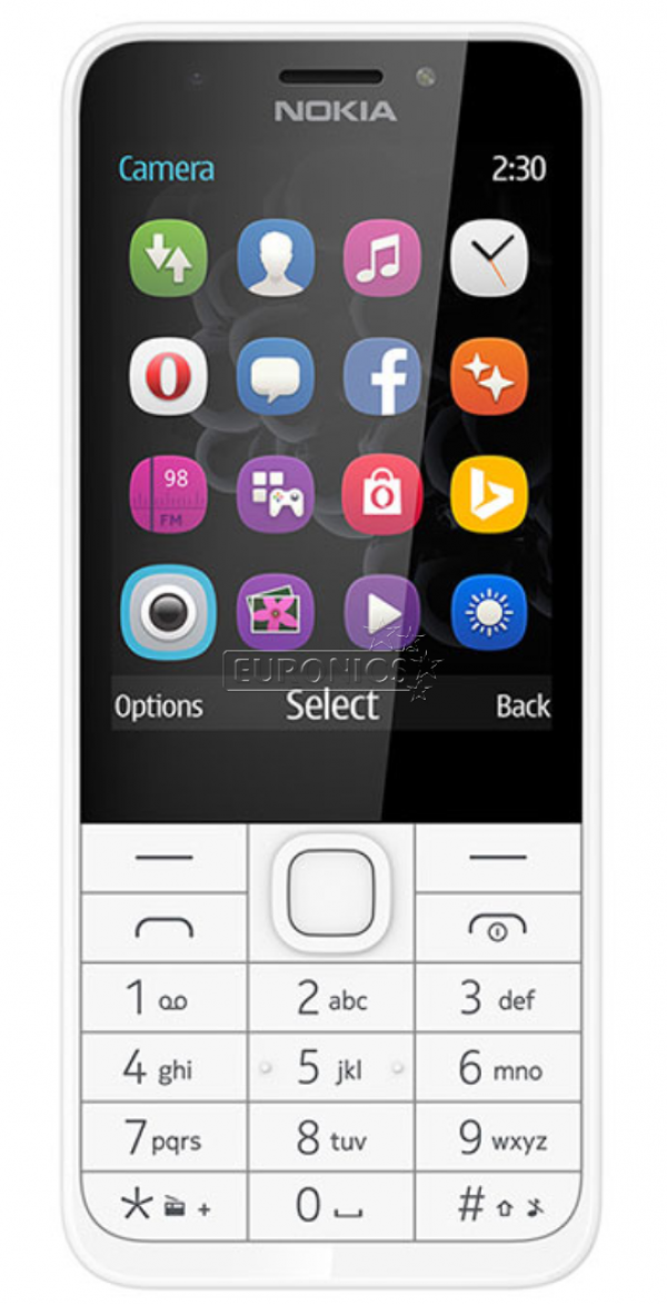 Nokia 230 DS Silver Dual Sim' ( 'A00027091' )