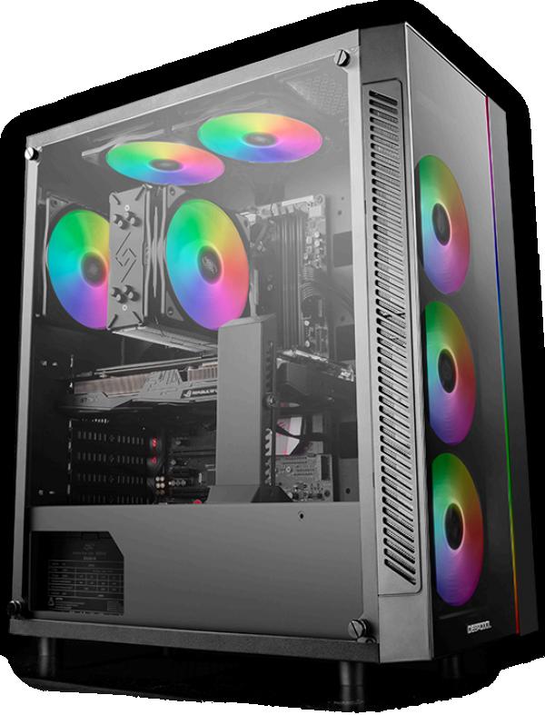 Kućište DeepCool MATREXX 55 V3 ADD-RGB 3F