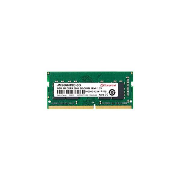 DDR4 SO-DIMM 4 GB 2666Mhz 1Rx8 512Mx8 CL19 1.2V ( JM2666HSH-4G )