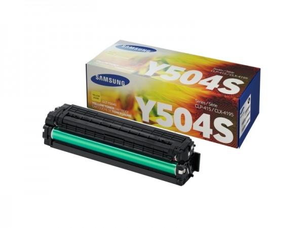 Samsung CLT-Y504S Yellow Toner Cartridge' ( 'SU502A' )