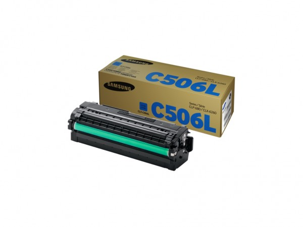 Samsung CLT-C506L High Yield Cyan Toner Cartridge' ( 'SU038A' )