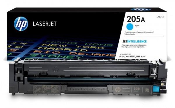 HP 205A Cyan Original LaserJet Toner Cartridge' ( 'CF531A' )