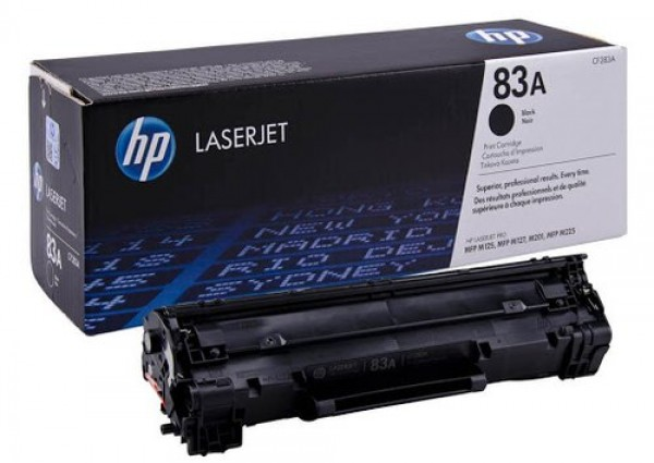 HP 83A Black LaserJet Toner za M127M125 CF283A' ( 'CF283A' )