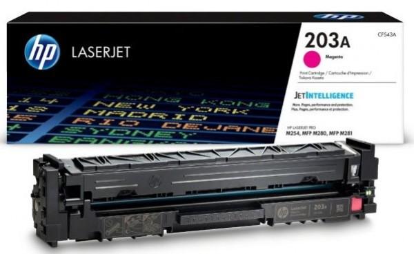 HP 203A Magenta Original LaserJet Toner Cartridge' ( 'CF543A' )