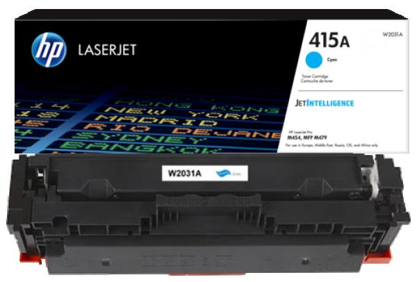 HP 415A Cyan LaserJet Toner Cartridge' ( 'W2031A' )