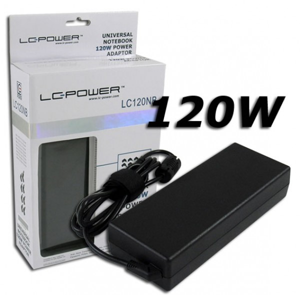 NB ADAPTER LC Power LC120NB  8 Adaptera 120W 19V / 6.32A