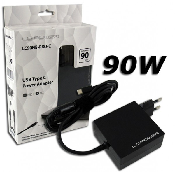 NB ADAPTER LC Power LC90NB-PRO-C Adaptera 90W/USB Type C