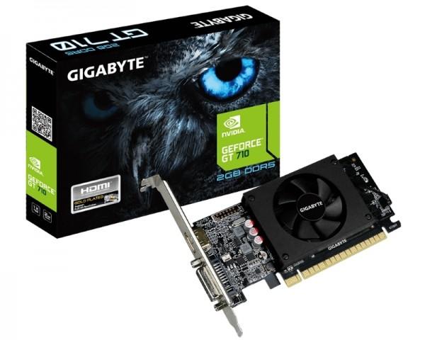 Gigabyte NVD GT 710 2GB DDR5 64bit GV-N710D5-2GL' ( 'GV-N710D5-2GL' )