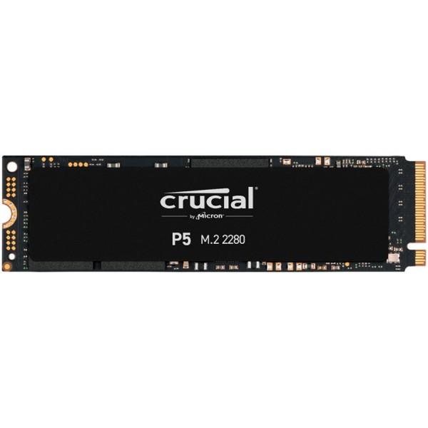 Crucial SSD 250GB P5 M.2 NVMe PCIEx4 80mm Micron 3D NAND  34001400 MBs, 5yrs, EAN: 649528823236 ( CT250P5SSD8 )
