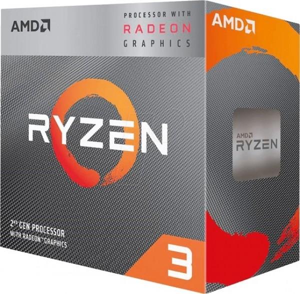 CPU AM4 AMD Ryzen 3 PRO 4350G 4 cores 3.8GHz (4.0GHz) MPK