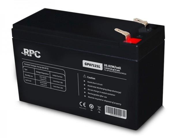 NJOY GP07121L baterija za UPS 12V 20.02W (BTVACFUOBTO1LCN01A)