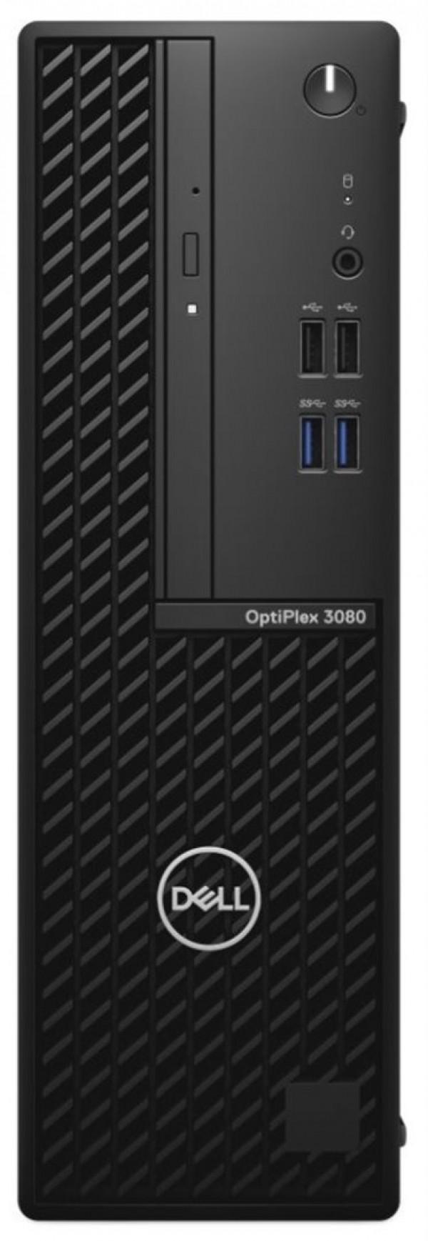 DELL OptiPlex 3080 SF i3-10100 8GB 256GB SSD DVDRW Win10Pro 3yr NBD
