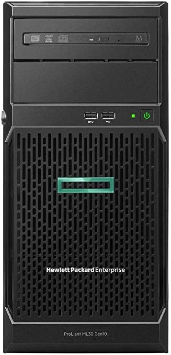 Server HPE ML30 GEN10 E-2224 8GB 4xNHP S100i 350W 3y