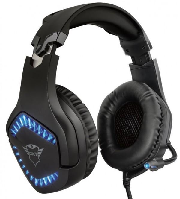 Trust slušalice  GXT460 VARZZ gaming crne' ( '23380' )