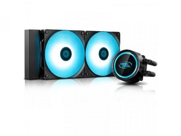 Kuler DeepCool GAMMAXX L240T Liquid cooling Blue