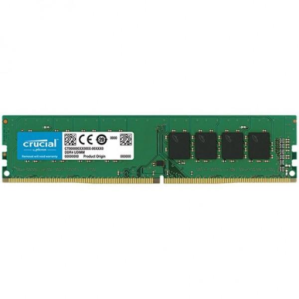 Crucial DRAM 4GB DDR4 2666 MTs (PC4-21300) CL19 SR x8 UDIMM 288pin , EAN: 649528785930 ( CT4G4DFS8266 )