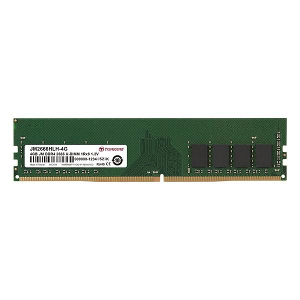 DDR4 4GB 2666MHz U-DIMM 1Rx8 512Mx8 CL19 1.2V ( JM2666HLH-4G )