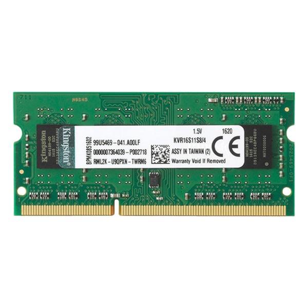 Kingston SODIMM DDR3 4GB 1600MHz KVR16LS114' ( 'KVR16LS114' )