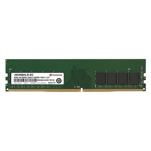 DDR4 8GB 2666Mhz U-DIMM 1Rx8 1Gx8 CL19 1.2V ( JM2666HLB-8G )