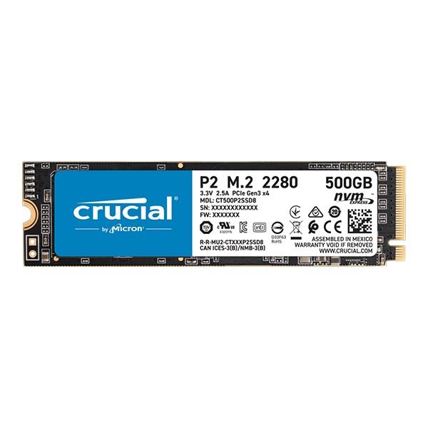 Crucial SSD 500GB P2 CT500P2SSD8 PCIE M.2' ( 'CT500P2SSD8' )