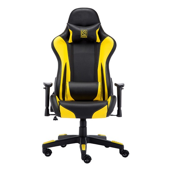 GAMING STOLICA LC Power LC-GC-600BY Gaming Chair Black/Yellow