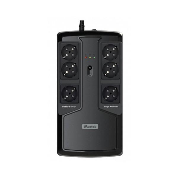 UPS 600VA Mustek PowerMust 600EG Offline Schuko