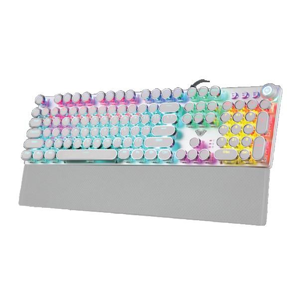 Tastatura AULA F2088 bela, mehanička