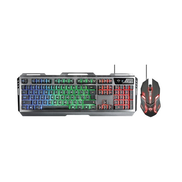 Trust tastatura+miš GXT 845 Tural gaming, srebrna' ( '22457' )